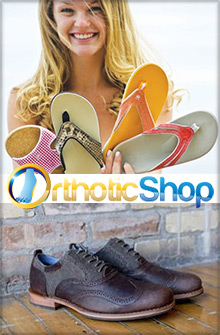Picture of orthotic shop from Orthotic Shop catalog