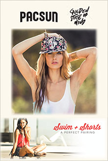 Picture of pacsun catalog from PacSun catalog
