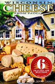 Picture of Wisconsin cheese from Paoli Cheese catalog
