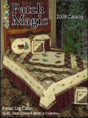 Picture of quilt bedding from Patch Magic catalog