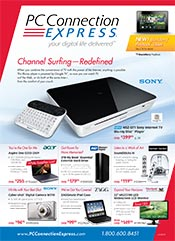Picture of PC catalog from PC Connection Express catalog