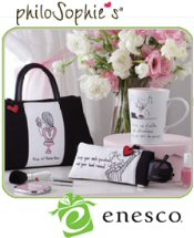 Picture of cute tote bags from PhiloSophies Gifts and Accessories catalog