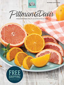 Picture of gourmet fruit gift basket from Pittman and Davis - Southern Fulfillment catalog