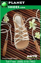 Picture of womens shoes from Planet Shoes catalog