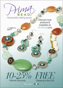 Picture of prima beads from Prima Bead catalog