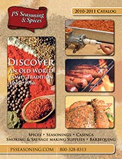 Picture of sausage making supplies from PS Seasoning & Spices catalog