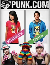 Picture of punk style clothing from Punk.com catalog