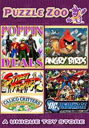 Picture of fun puzzle games from Puzzle Zoo catalog