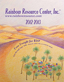 Picture of rainbow resource center from Rainbow Resource catalog