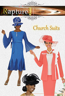 Picture of womens church suits from Women Church Suits and Church Hats catalog