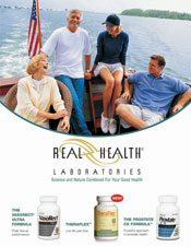 Picture of joint supplements from Real Health Laboratories catalog