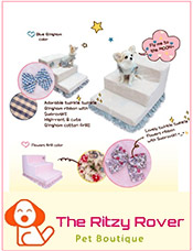 Picture of designer dog clothing from The Ritzy Rover catalog