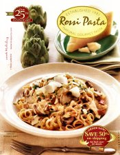 Picture of gourmet pasta from Rossi Pasta catalog