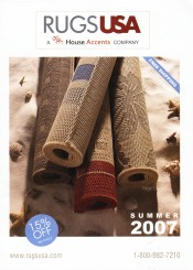 Picture of dining room rugs from Rugs USA catalog