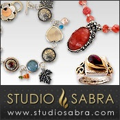 Picture of sterling silver necklaces from Studio Sabra  catalog