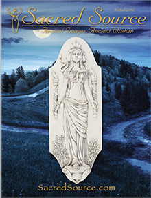 Picture of sacred source catalog from Sacred Source catalog