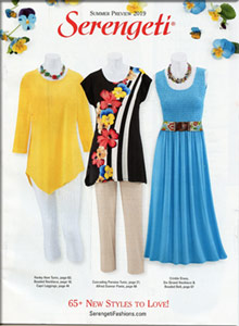Picture of women's pant sets from Serengeti - Potpourri Group catalog