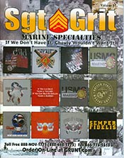 Sgt Grit Marine Corps Specialties