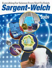 Picture of science lab equipment from Sargent Welch catalog