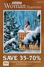 Picture of women's apparel from Sierra Trading Post Woman catalog