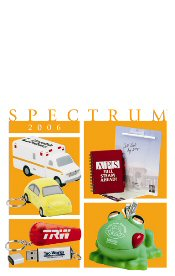 Picture of trade show giveaways from Spectrum Catalog catalog