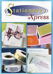 Picture of custom invitations and stationery from StationeryXpress.com catalog