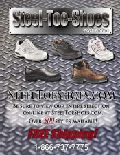 Picture of steel toe shoes from Steel Toe Shoes.com catalog