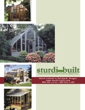 Picture of greenhouse kits from Sturdi-Built Greenhouse catalog