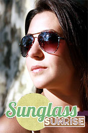 Picture of fashion sunglasses from Sunglass Sunrise catalog