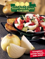 Picture of sweet onions from Sweet Onion Express catalog