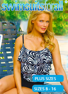 Picture of swimsuits for plus size from SwimsuitsForAll.com - Full Beauty Brands catalog