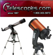 Picture of Meade telescopes from Telescopes.com catalog