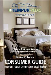Picture of Tempur Pedic mattress from Tempur-Pedic® catalog