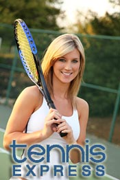 Picture of tennis racquets from Tennis Express catalog