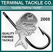 Picture of sinker molds from Terminal Tackle Co catalog