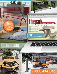 Picture of the park catalog from The Park Catalog catalog