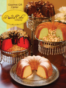 Picture of best pound cake from The Pound Cake Company catalog