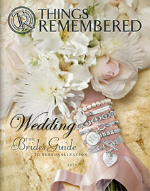 Picture of engraved gifts from Things Remembered Wedding Catalog catalog