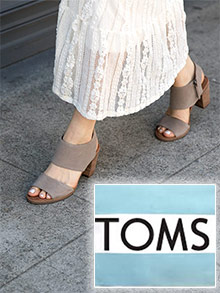 Picture of toms shoe catalog from Toms catalog