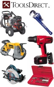 Picture of DeWalt tools from ToolsDirect.com catalog