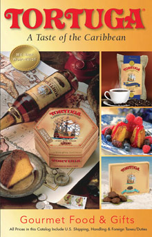Picture of tortuga rum cake from Tortuga Rum Cake Company catalog