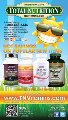 Picture of daily complete vitamin from Total Nutrition catalog