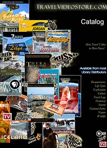 Picture of travel dvds from Travel Video Store catalog