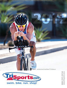 Picture of triathlon from TriSports.com catalog