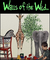 Picture of wall murals from Walls of the Wild catalog