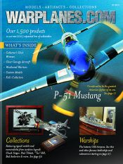 Picture of model airplanes from Warplanes.com catalog