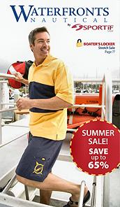 Picture of nautical clothes from Men's Nautical Clothing catalog