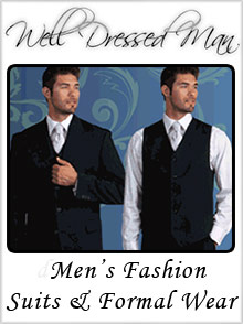 Picture of well dressed man from Well Dressed Man catalog