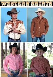 Picture of retro western shirts from WesternShirts.com catalog