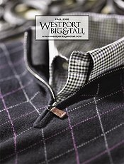 Picture of men's big and tall clothes from Westport Big & Tall catalog